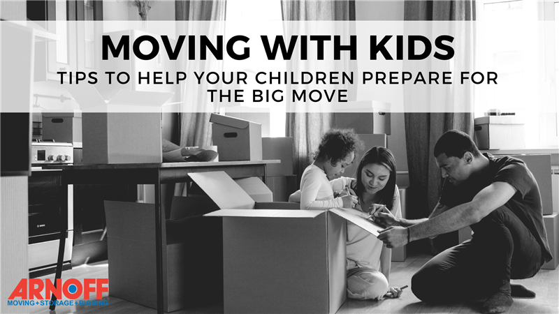 Moving with Kids - Tips to help your children prepare for the big move