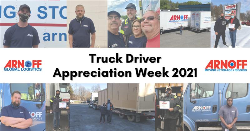 Arnoff Honors Truck Driver Appreciation Week 2021
