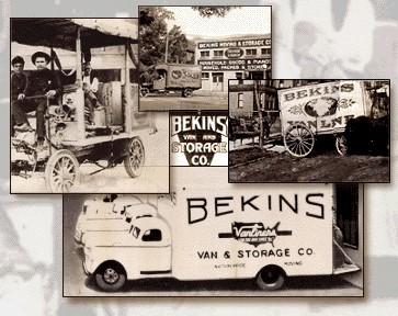 Bekins Vintage Photo