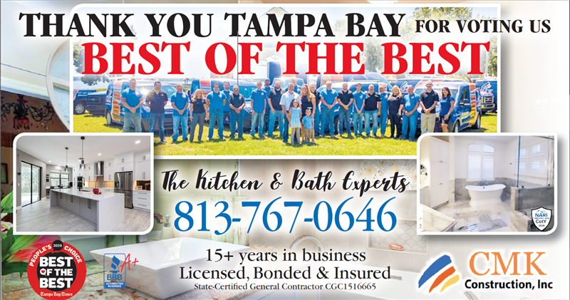 Thank You for Voting us Best of the Best in Tampa Bay