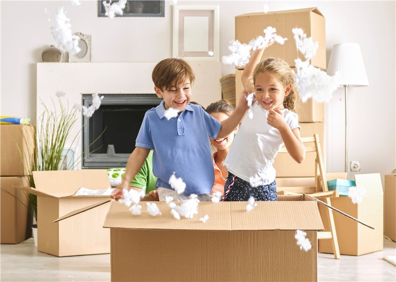 Ways to Make Moving Fun for Kids and Less Stressful for Parents