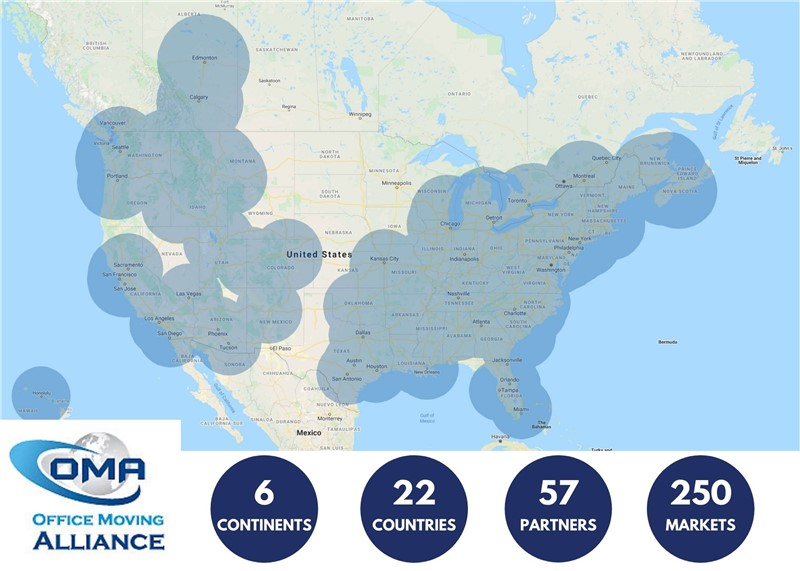 Worldwide Office Moving Solutions Through Office Moving Alliance (OMA)