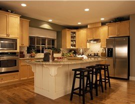 Wood Cabinets Photo 4