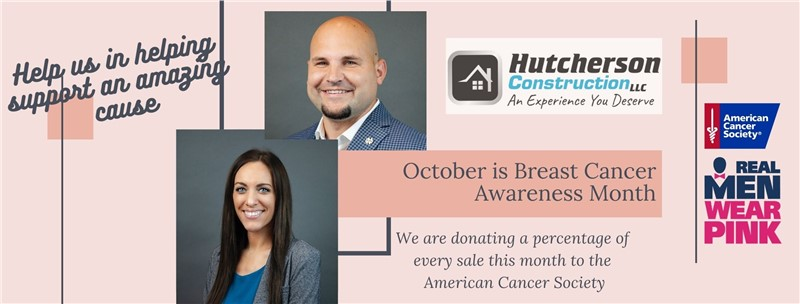Hutcherson Exteriors Donating Percentage of Sales to American Cancer Society