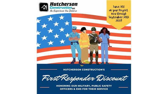 First Responders Discount!
