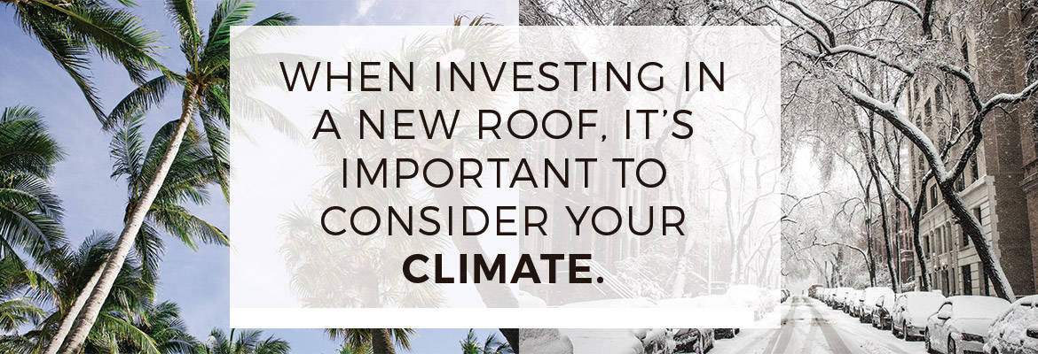 Improving your roof for better energy costs.
