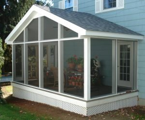 Screen Room Gable Roof