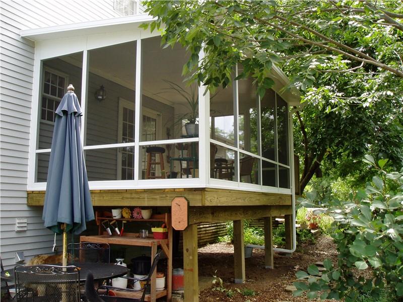 Deck Enclosed Screen Room