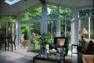 Interior of Year Round Sunroom by Joyce Factory Direct