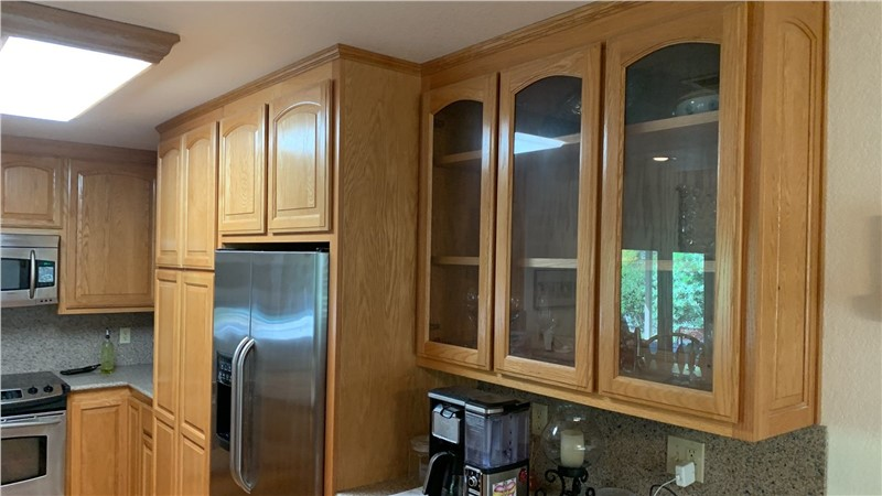 Painting Oak Cabinets in Los Banos, CA