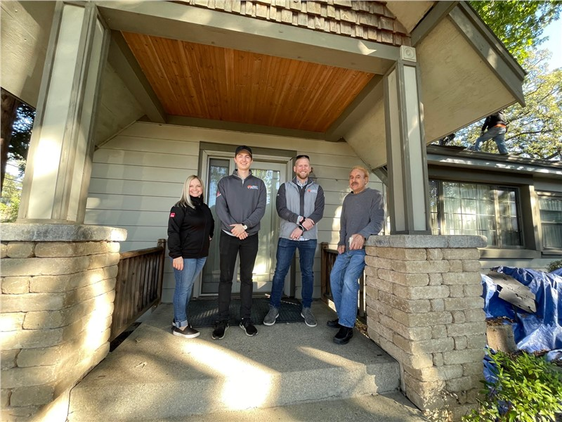 Illinois Vietnam Veteran Receives New Roof From Legacy