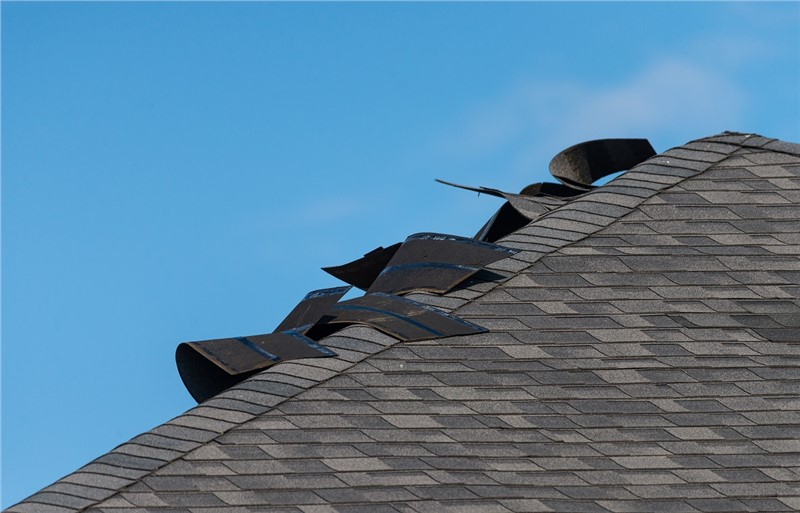 Five Common Signs of Wind Damage on a Roof