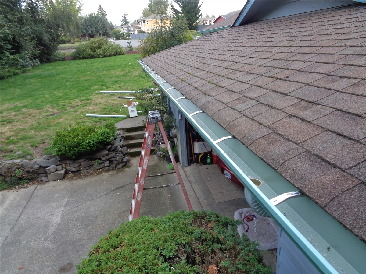 Gutter Replacement For South Puget Sound Homes Patriot Roofing