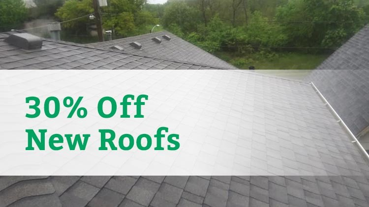 30% Off a Complete Roof