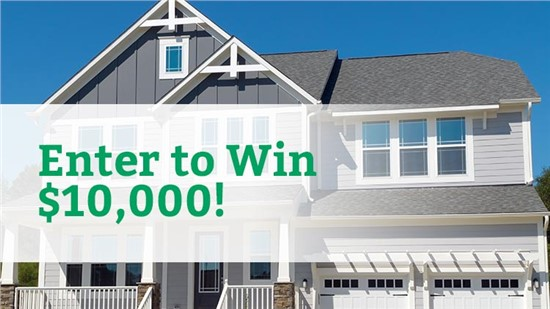 Win $10,000 Home Makeover!