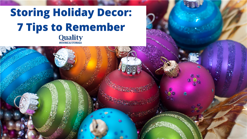 Storing Holiday Decor: 7 Tips to Remember