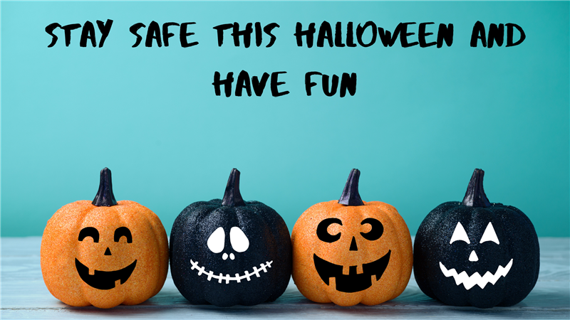 Stay Safe This Halloween and Have Fun