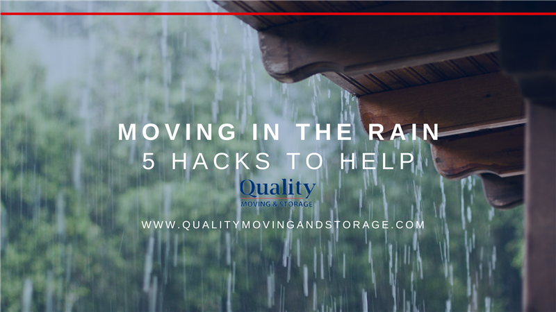 Moving in Rain: 5 Hacks to Help