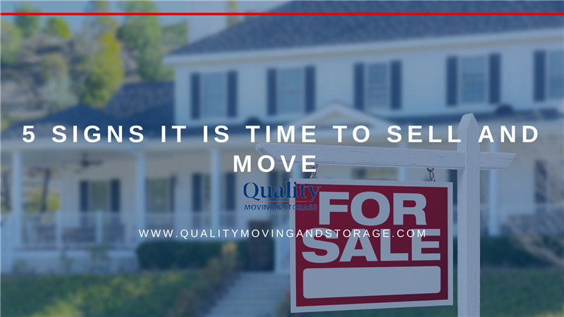 5 Signs You May Be Ready to Sell and Move