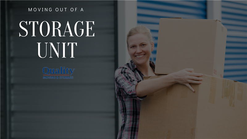 Moving Out of a Storage Unit