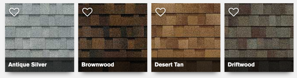 How to Choose your Shingle Color