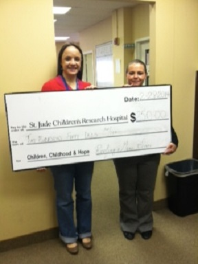 Roofing & More Donates to St. Jude Children's Research Hospital Mid-Atlantic