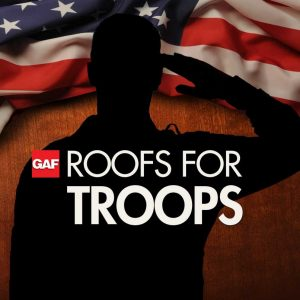 """GAF """"Roofs for Troops"""" Rebate Extended for 2015"""