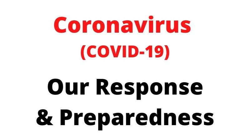 We are Still Serving Customers and Following Coronavirus (COVID-19) Preparedness Guidelines