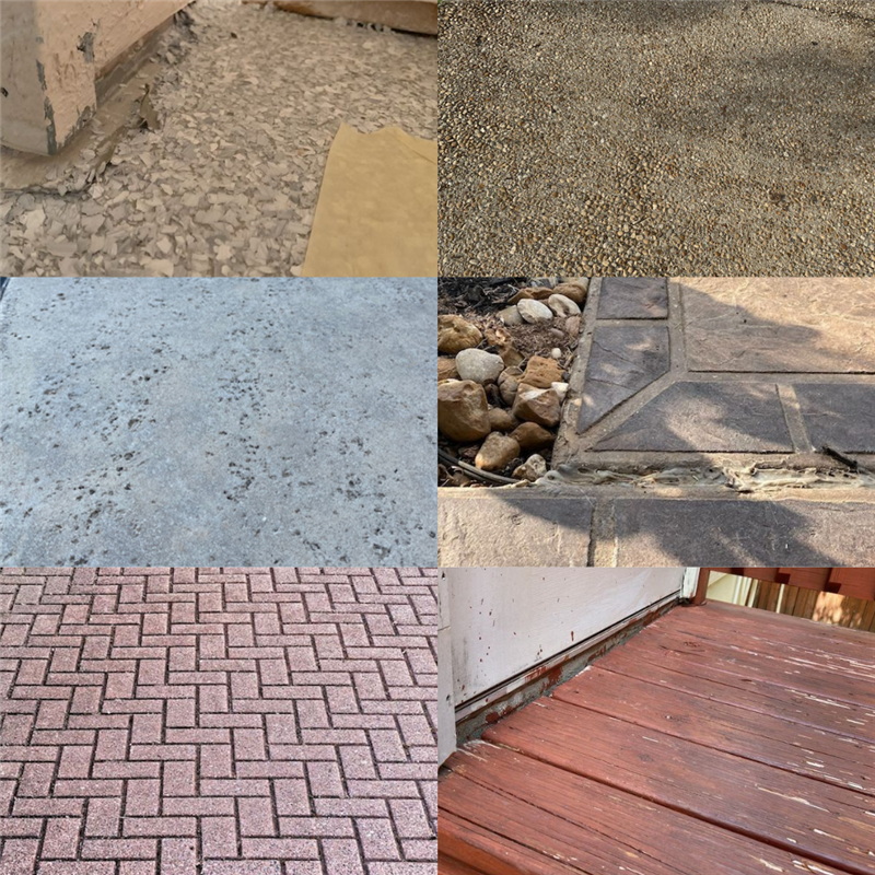 What types of flooring can and cannot be coated with an industrial concrete coating? (Article)