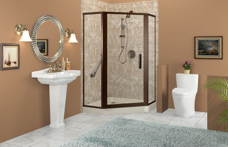 3 Great Ideas for Remodeling a Small Bathroom