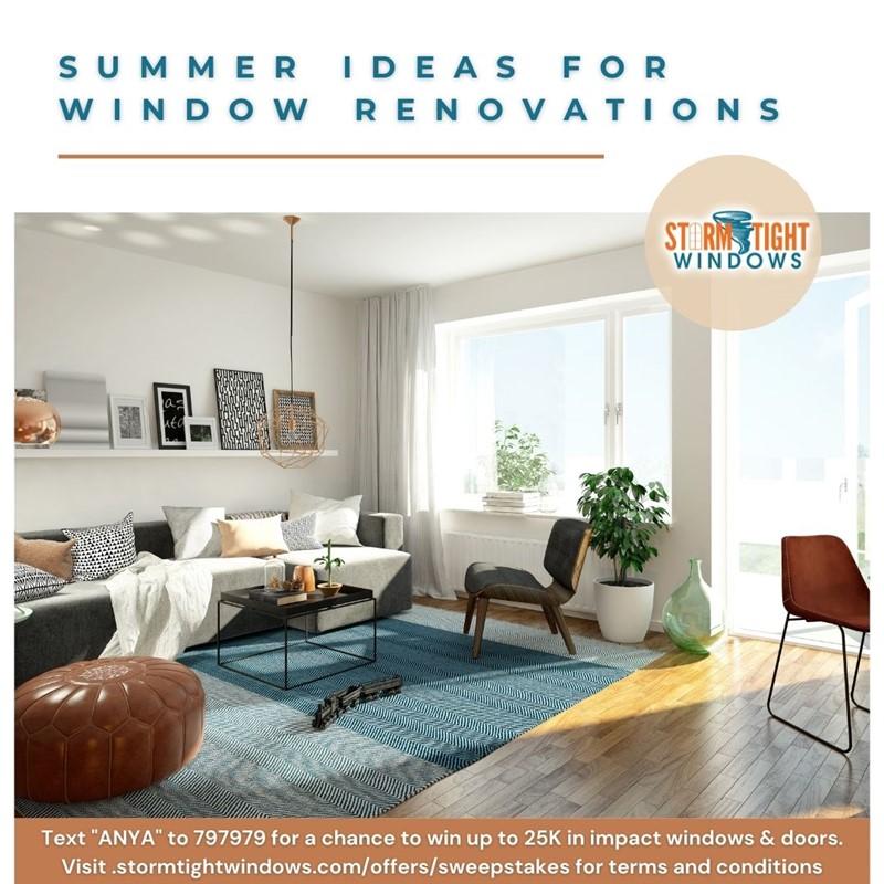 Summer Ideas For Window Renovations
