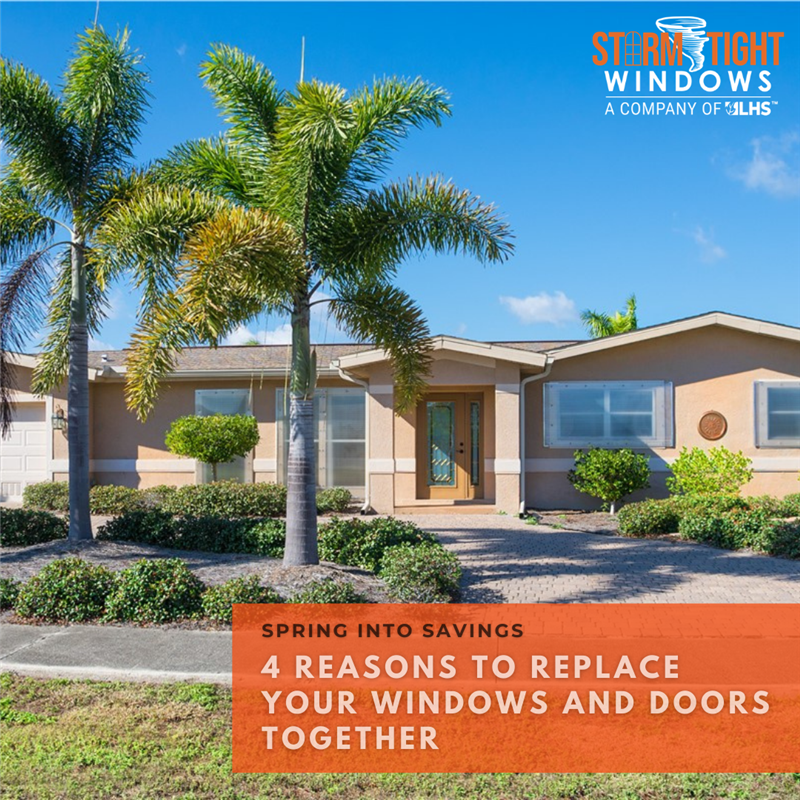 4 Reasons to Replace Your Windows and Doors Together