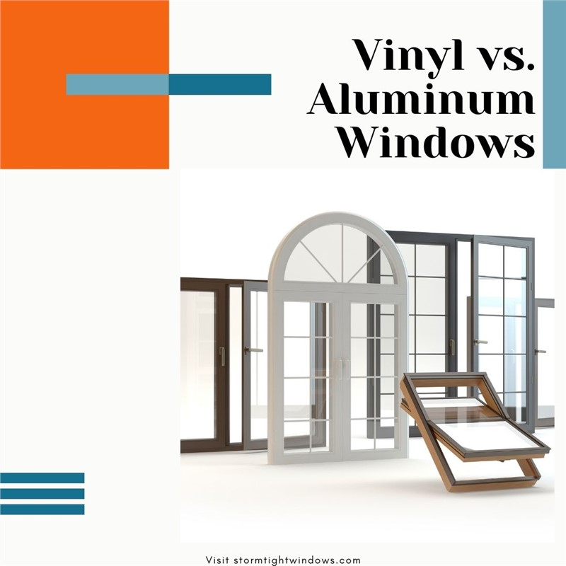 Vinyl vs. Aluminum Windows