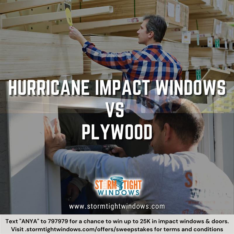 Hurricane Impact Windows Vs Plywood