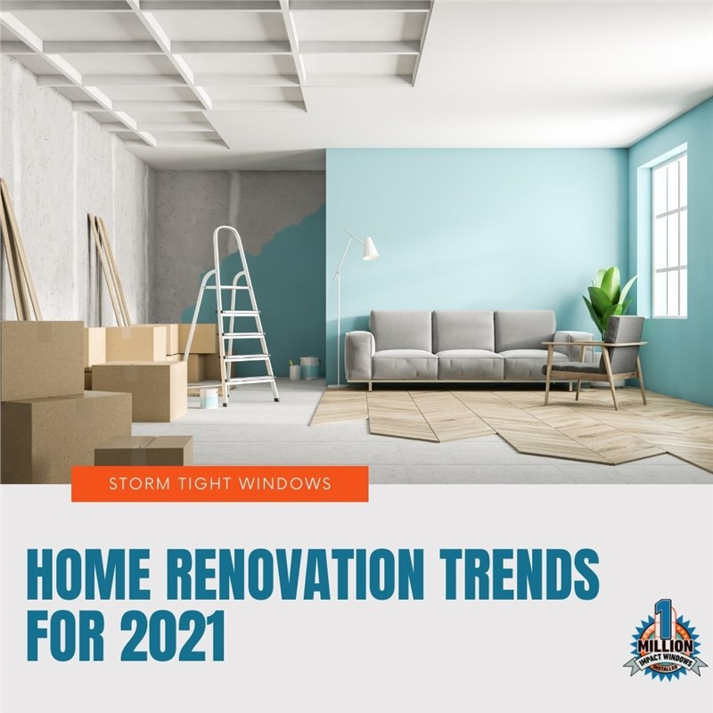 Home Renovations Trends for 2021