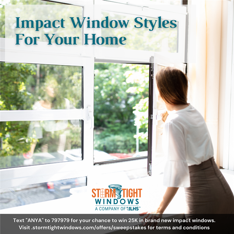 Impact Window Styles For Your Home