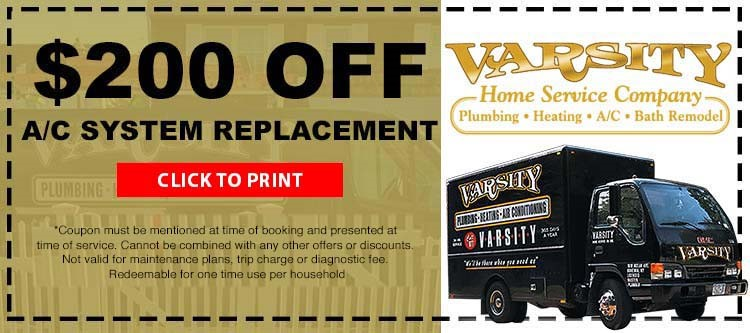 $200 Off A/C System Replacement