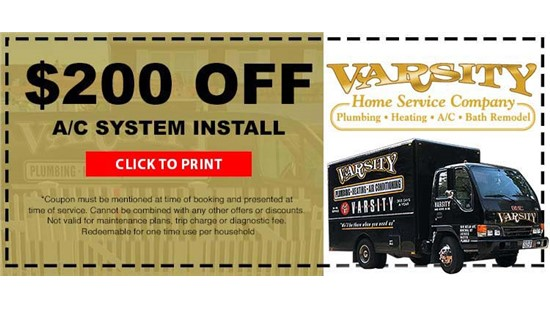 $200 Off A/C System Installation