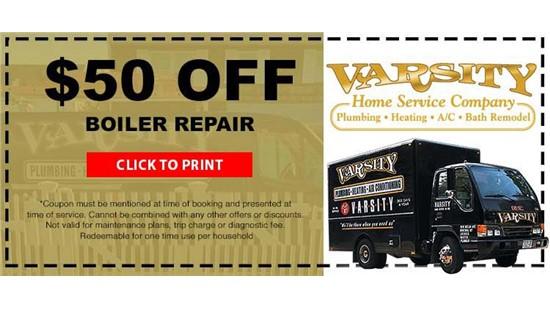 $50 Off Boiler Repair