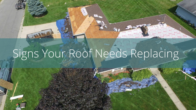 Roof replacement by West Michigan Roofing