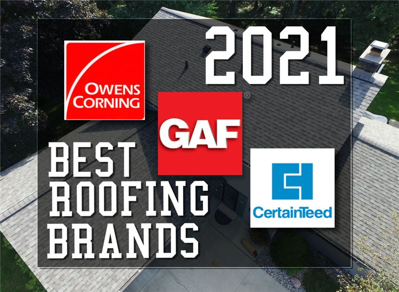 Your Guide to the Best Roofing Brands in 2021