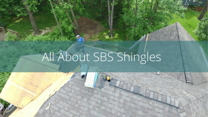 SBS shingles for residential roofs